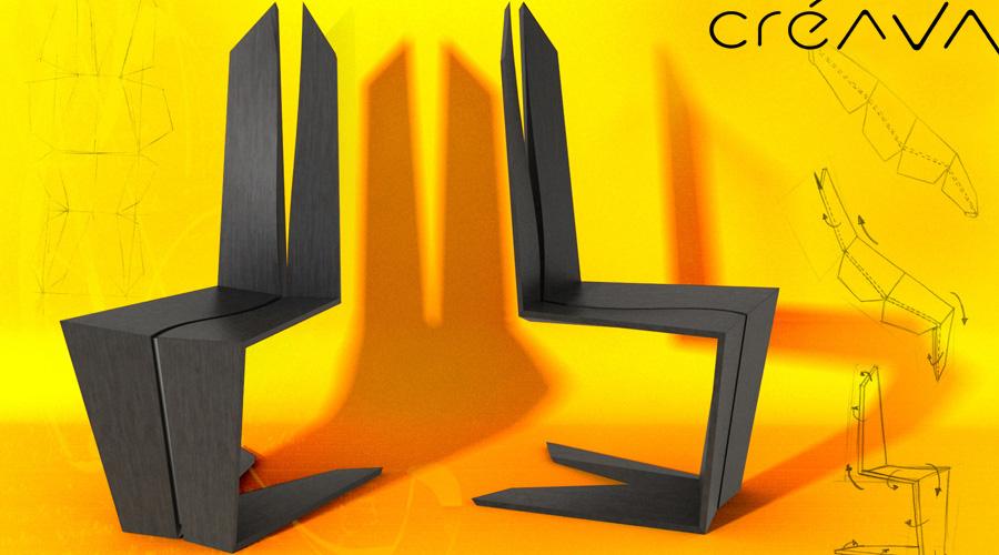 origarchi chair freestyle design creava design 2017. Black Bedroom Furniture Sets. Home Design Ideas